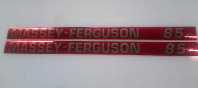 Massey Ferguson 85 Hood Decals