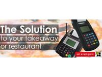 Restaurant Takeaway Online Ordering system with WIRELESS GPRS GSM PRINTER UK