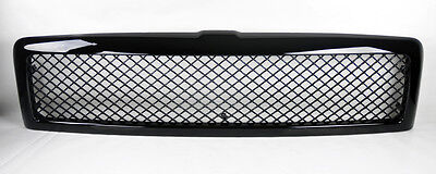 Dodge Ram 94-02 Front Mesh Gloss Black Bumper Hood Grill Truck W/O Sport