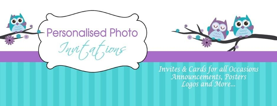 Personalised Photo Invitations