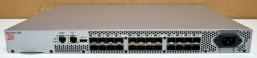 Brocade 300 | 0P832F | 24 Port 8GB Fibre Channel Switch | Tested/Fac.Reset