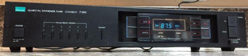 Sansui Classique T-990 Quartz PLL Digital Synthesizer Stereo AM/FM Radio Tuner
