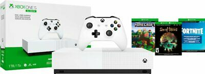 Microsoft - Xbox One S 1TB All-Digital Edition Console (Disc-free...