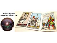 Psychic Spirit Tarot Palm Entertainment plus Graphology and Mediumship 4 hire London