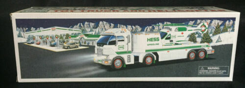2006 HESS Truck & Helicopter   MINT In Box ~ Tested & Working