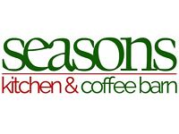 Restaurant/Coffee Shop Assistant - Seasons Restaurant - FULL/PART & SEASONAL POSITIONS AVAILABLE