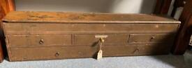 **SOLD** Vintage Tool Cabinet / Gramophone Parts Drawers