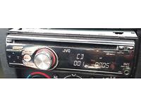 JVC KD-R311 IN CAR STEREO RADIO CD MP3 PLAYER