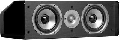 Polk Audio CS 10 Altavoz Central (125 Vatios) Negro - Nuevo y...