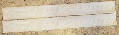 Ford 661 Workmaster Decals For Hood Only
