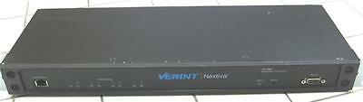 Verint S1708e-t Nextiva 8 Channel Video Encoder
