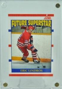 Eric Lindros Rookie Card Peterborough Peterborough Area image 1