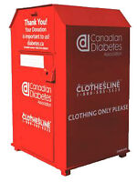 Clothing Bin / Residential Pick up Representative