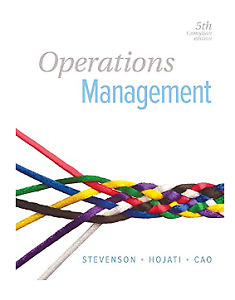 FS:  Operations management 5th Canadian edition - Stevenson