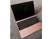 "ROSE GOLD Macbook 12"", Intel Core 8GB RAM, 256Gb Flash Storage - New Aug 2016"