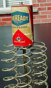 Antique 1950s Everready Battery Store  display London Ontario image 2