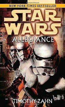 Allegiance: Star Wars by Zahn, Timothy | Book | condition good