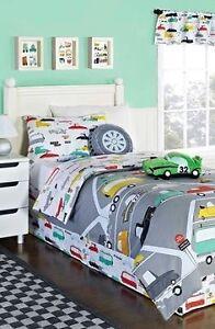 Boys retro car Duvet cover Full/Double Bedding