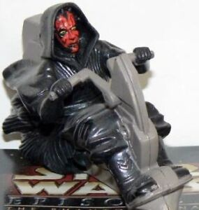 Star Wars Episode I- Pizza Box, Small Box and Darth Maul toy