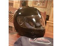 Full Face Motorcycle Helmet Black