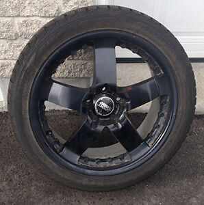 "4 x Winter Tire on 18"" MAGS for 2009+ Audi A4 S4"