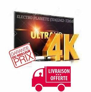 **MEILLEUR PRIX GARANTI TELE SMART TV SAMSUNG LG SONY SHARP 4K!