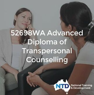 Diploma of Transpersonal Counselling - NOTHING TO PAY UPFRONT! Brisbane City Brisbane North West Preview