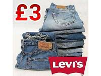 LEVI'S Jeans Authentic Used Mixed Sizes Bundles MOQ 10pcs
