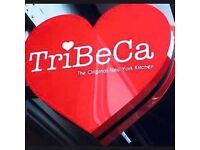 TriBeCa Dumbarton Road is currently looking for experienced waiting staff and a full time supervisor