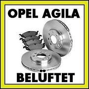 Bremsscheiben Opel Agila