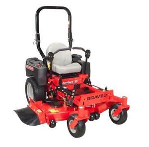NEW-Gravely Pro Turn 60 Riding Lawn Mower