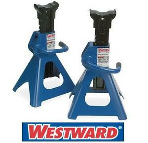 NEW WESTWARD 2PC VEHICLE STAND CAR JACK 4 Tons per Pair CAR AUTO TOOL 105716495