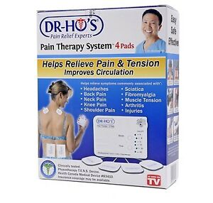 Brand new never opened Dr Ho 4 pad pain therapy system $70