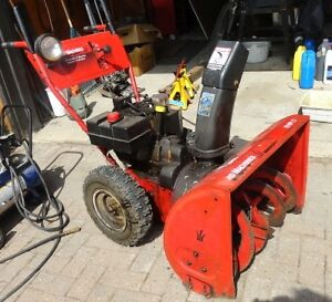 10HP snowblower 28 inch box