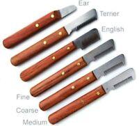 Couteau Mars professionnel pour le toilettage stripping