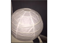 NEW - IKEA Round Paper Ceiling Lantern Light Shade - in Perfect Condition