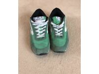 Green Dunlop Trainers