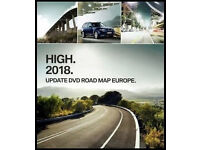 BMW 2018 HIGH SATELLITE NAVIGATION DISC SET UK & EUROPE.