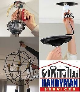 Light Fixture Installation - Residential and Commercial