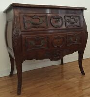 ANTIQUE BOMBAY CHEST