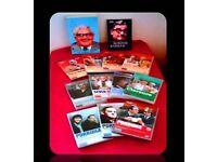 RONNIE BARKER BUNDLE - 13 ITEMS - DVDS & PAPERBACK BOOKS - FOR SALE