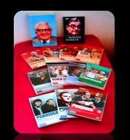 RONNIE BARKER BUNDLE - 13 ITEMS - DVDS & PAPERBACK BOOKS - FOR SALE