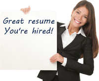 Resume Writing $49