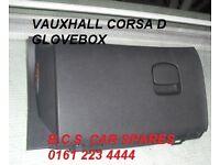 VAUXHALL CORSA D GLOVEBOX 2012 2013