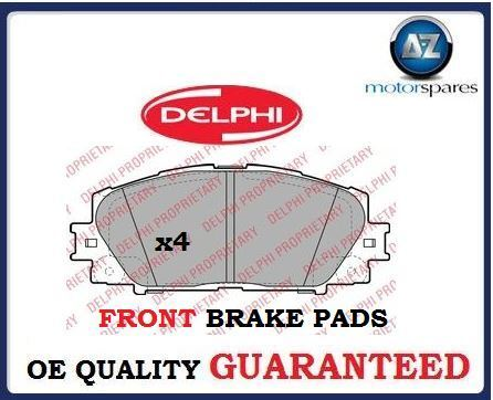 FOR LEXUS CT200 HYBRID 1.8i VVTi 2010--> NEW FRONT BRAKE DISC PADS SET