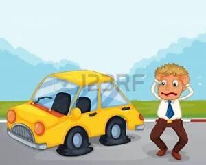 Gordons Tire Change Service + Roadside Calls MOBILE SERVICE