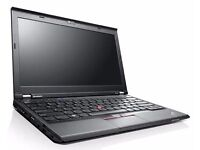 "Lenovo X230 i5 12.1"" Laptop & DVD/RW Docking Station"