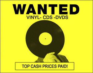 VINYL RECORDS, CD's WANTED