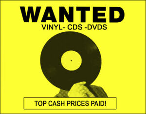 Records wanted. CDs wanted