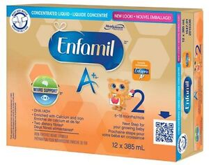 2 cases enfamil a+ stage 2